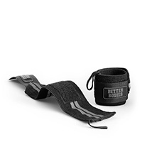 Better Bodies Elastic Wrist Wraps - Schwarz